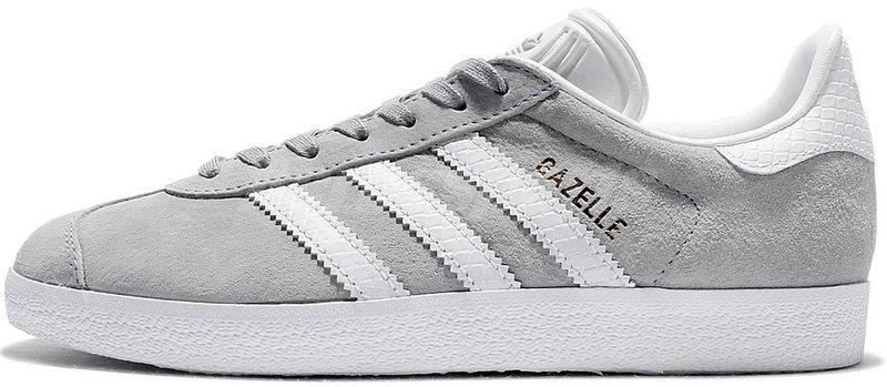 Женские кроссовки adidas Gazelle (Адидас Газели) серые