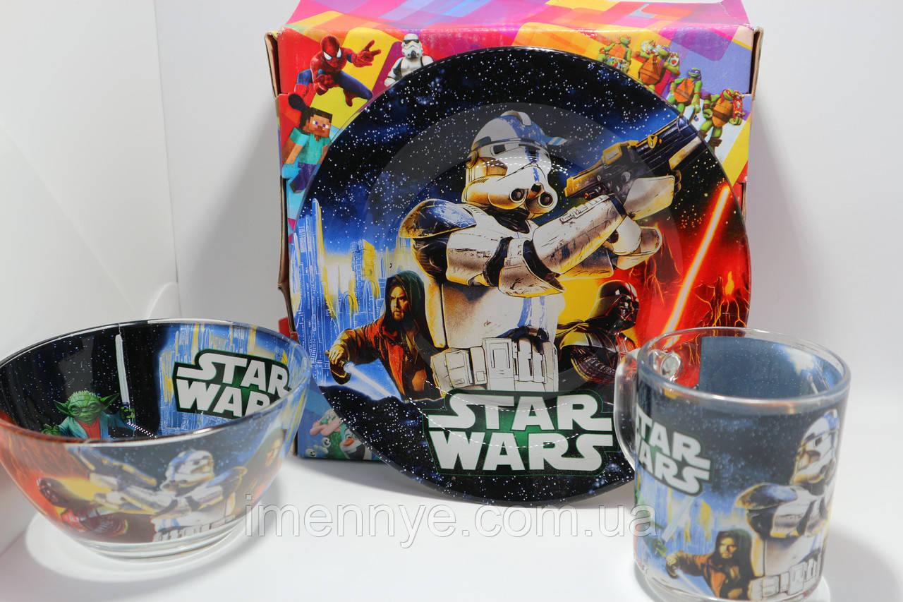 Подарочный набор посуды Звездные Войны