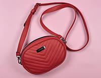38b1f266ca2f Поясная сумка бананка красная BELT BAG HARVEST (сумка на пояс, сумки  женские, сумки
