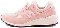 Женские кроссовки New Balance 999 Pink (Нью Баланс) розовые