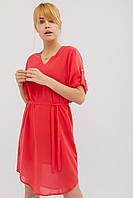 Женское шифоновое платье с подкладкой и поясом (Altima crd)
