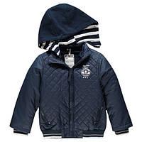 Куртка демисезонная (Франция) утепленная со съемным капюшоном для мальчика  размер 4 года a6ed1579934c9