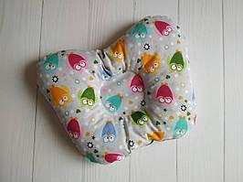 Ортопедическая подушка для новорожденных, ассорти цветов