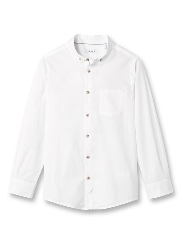 a76adee8659 Белая рубашка (Франция) с длинным рукавом для мальчика размеры 6 лет 8 лет  10 лет 12 лет