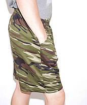 Шорти чоловічі збільшені - камуфляж, фото 3