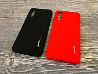 TPU чехол Smitt накладка бампер для Huawei P20 (2 цвета)