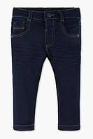 """Стильные джинсы (Германия) крой Slim стрейчевые с аппликацией """"Машинки"""" для мальчика 18 мес 2 года 18 мес / 86 см"""