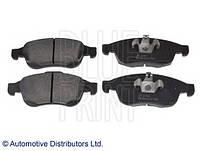 Комплект передних тормозных колодок на Рено Дастер, Дачиа Дастер 4х4/ Blue Print  ADR164206