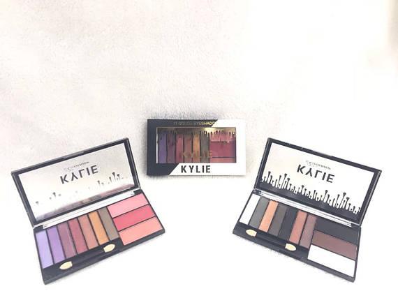 K6676 Набор теней и румян Kylie eyeshadow blusher (10 оттенков)