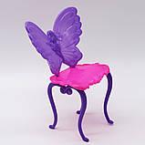 Столик з дзеркалом і стілець (аксесуари для ляльок), фото 5