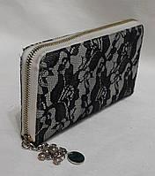 Женский кошелек из натуральной кожи.Красивый кожаный кошелёк.