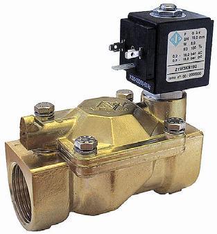 21W4ZB250 Клапан соленоидный / электромагнитный ODE
