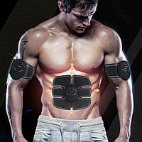 Пояс Ems Trainer 3В1 для пресса / Миостимулятор / Пояс Ems-trainer стимулятор мышц пресса + 2 на бицепс