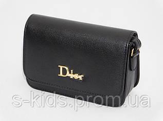 Мини сумочка клатч Диор черный