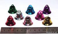Колокольчики, 2,6 см. разноцветные, фото 1