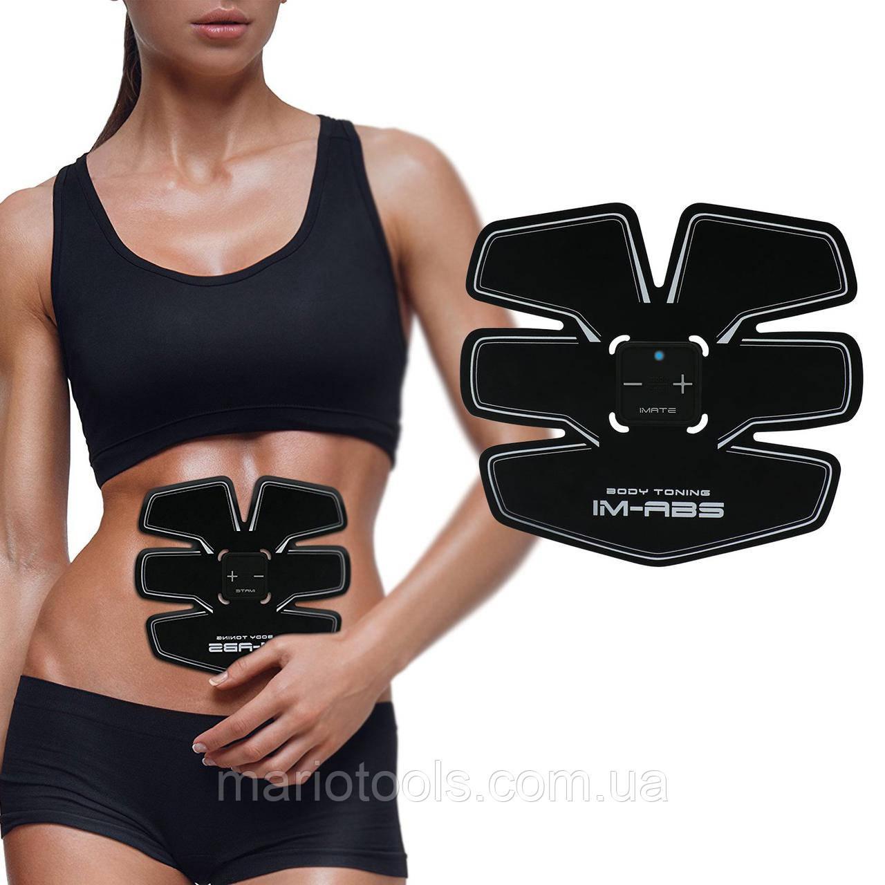 Пояс Ems Trainer для пресса / Миостимулятор / Пояс Ems-trainer стимулятор мышц пресса