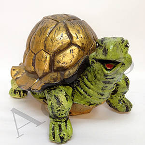 Садовая фигура Черепаха средняя 18 см