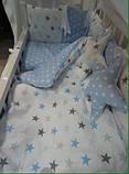 Постельный комплект  в детскую кроватку, фото 5