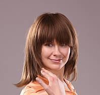 Натуральный женский парик из прямых славянских волос Флорис