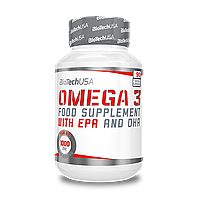 Рыбий жир BioTech Omega 3 90 softgels