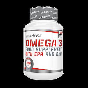 Рыбий жир BioTech Omega 3 90 softgels