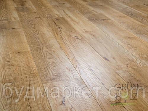 Ламинат Grun Holz Дуб Лугано 1215*165*8 мм 33 класс 93403