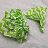 Комплект: Трусики под памперс + бандана-косынка. Цвет - зеленые волны