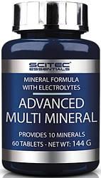 Мінерали Scitec Nutrition Advanced Multi Mineral 60 tabs