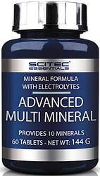 Минералы Scitec Nutrition Advanced Multi Mineral 60 tabs