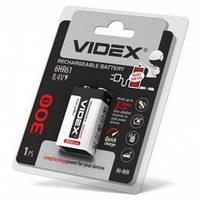 Аккумулятор VIDEX 6HR61 (Крона), 300mAh, 8.4V