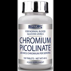 Жиросжигатель Scitec Nutrition Chromium Picolinate 100 tab