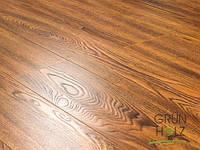 Ламинат Grun Holz Дуб Тирено коньячный 1215*165*8мм 33 класс 92502