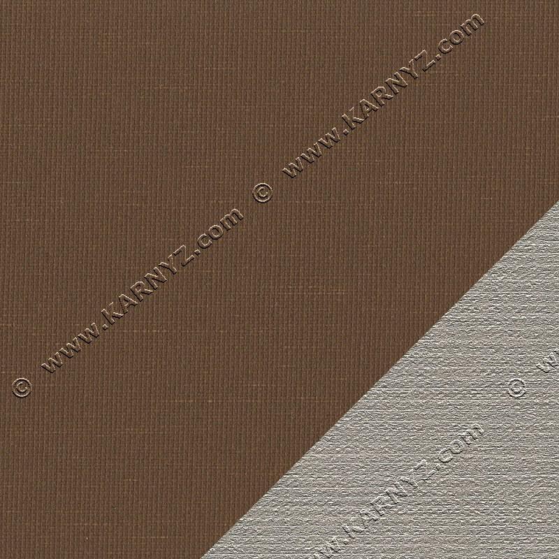 Рулонные шторы термо Блэкаут Сансет D-610 коричневый Германия