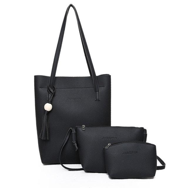 bbe2d680b159 Черный набор сумок 3-1 оптом : продажа, цена в Одессе. женские ...