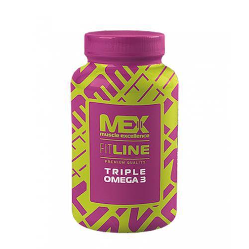 Рыбий жир MEX Triple Omega 3 90 softgels