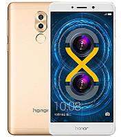 "Смартфон Huawei Honor 6x 4/64Gb Gold, 8 ядер, 12+2/8Мп, 5.5"" IPS, 2 sim, 4G, 3340мАh, Android 6.0"