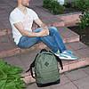 Рюкзак городской спортивный Lerom L87 green - Фото