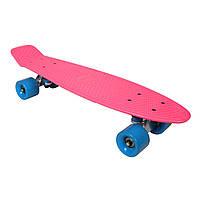Скейтборд SK8 Vintage 22.5' розовый, до 100кг, AWAII, фото 1