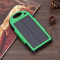 Зарядка на солнечной батарее Power Bank Solar Charger 10000 mAh (модель с ручкой для переноски)