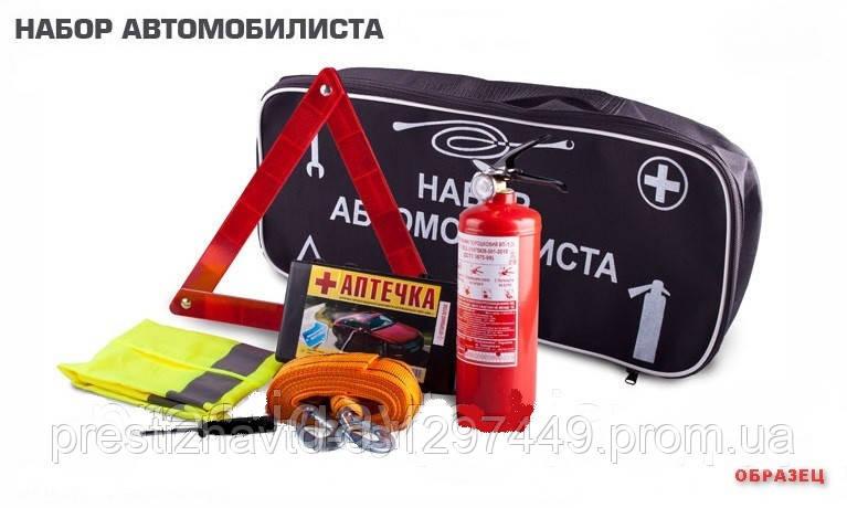 Набор автомобилиста сумка первой помощи - 7 предметов