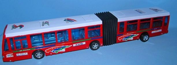 Автобус  инерционный  гармошка