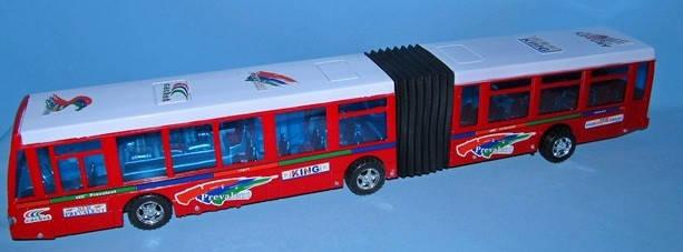 Автобус  инерционный  гармошка, фото 2