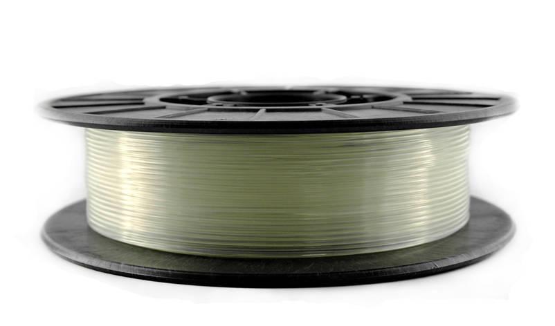Нить PLA (ПЛА) пластик для 3D печати, Натуральный (1.75 мм/0.5 кг), фото 2