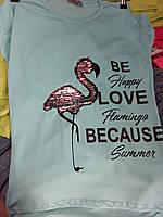 Стильная детская футболка для для девочки