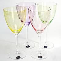 Набор бокалов для вина Bohemia Fantasy 250 мл 4 пр b40796-Q8794