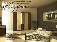 Кровать,,Жозефина ,,на деревянных ножках