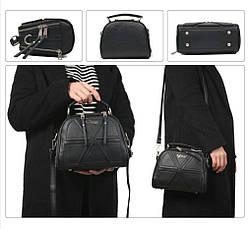 Дуже красива вінтажна жіноча сумка через плече ZMQN, фото 3