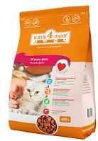 Корм Клуб 4 Лапы Премиум для взрослых кошек Телятина (мясное филе) на развес 1 кг
