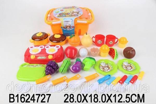 c080a253f8f6d Игрушечный набор посуды и продуктов в корзине, цена 462 грн., купить в  Киеве — Prom.ua (ID#651266441)