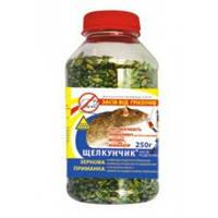 Родентицид/Средство от мышей Щелкунчик 250г зерно в ПЭТ бутылке
